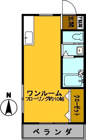 モリアパートメント101 図面